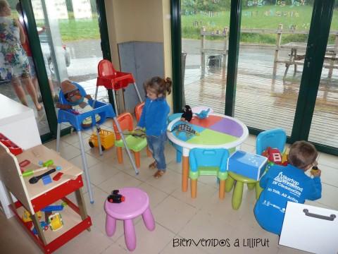 Cafetería de Grutas de Hotton