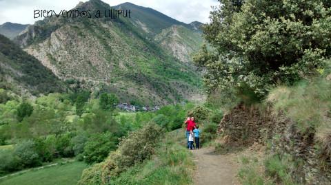 Subiendo a Sant Pere del Burgal