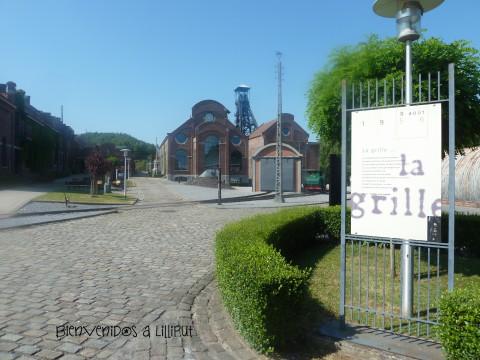 Entrada a Le Bois du Cazier