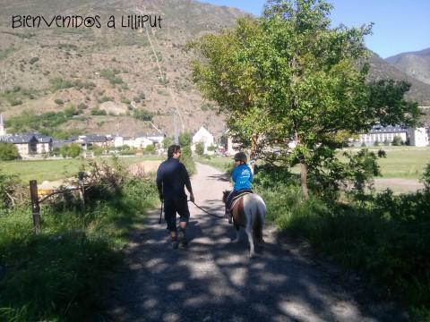 Ruta en poni