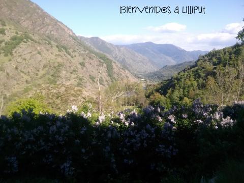 Vistas desde el pueblo de Árreu
