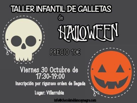 taller de galletas halloween