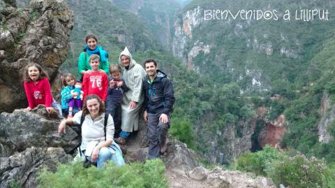 Ruta al Puente de Dios. Marruecos con niños