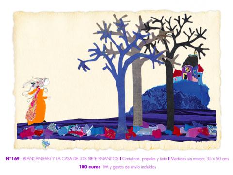 Blancanieves y la casa de los 7 enanitos. VioletaMonreal.com