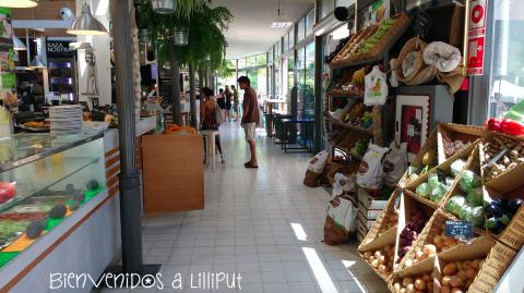 Productos frescos en Mercado Victoria
