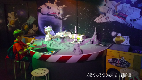 Space Mission Legoland BErlin