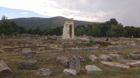 Zona arqueológica Epidauro
