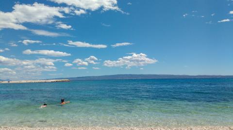 Mar Adriático en Split (Croacia)