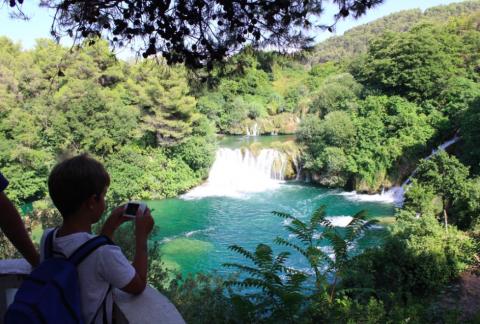 Parque Nacional de Krka, Croacia con niños