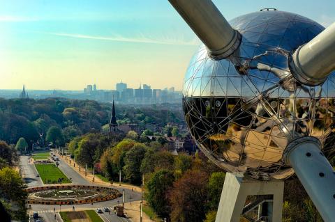 Atomium vistas, Museos en FLandes para ir con niños